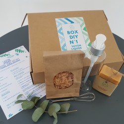 BOX DIY N° 1 SAVON LIQUIDE